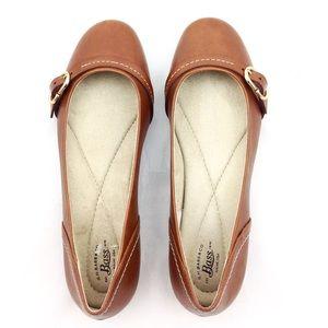 Bass Leather Matilda Ballet Flats 8.5 - N617&